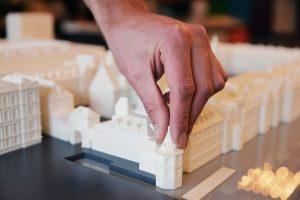 3D printen maquette Het Binnenhof