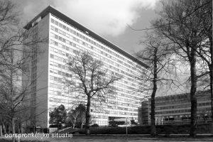 Oorspronkelijke sityatie gebouw Hoog Oostfuin