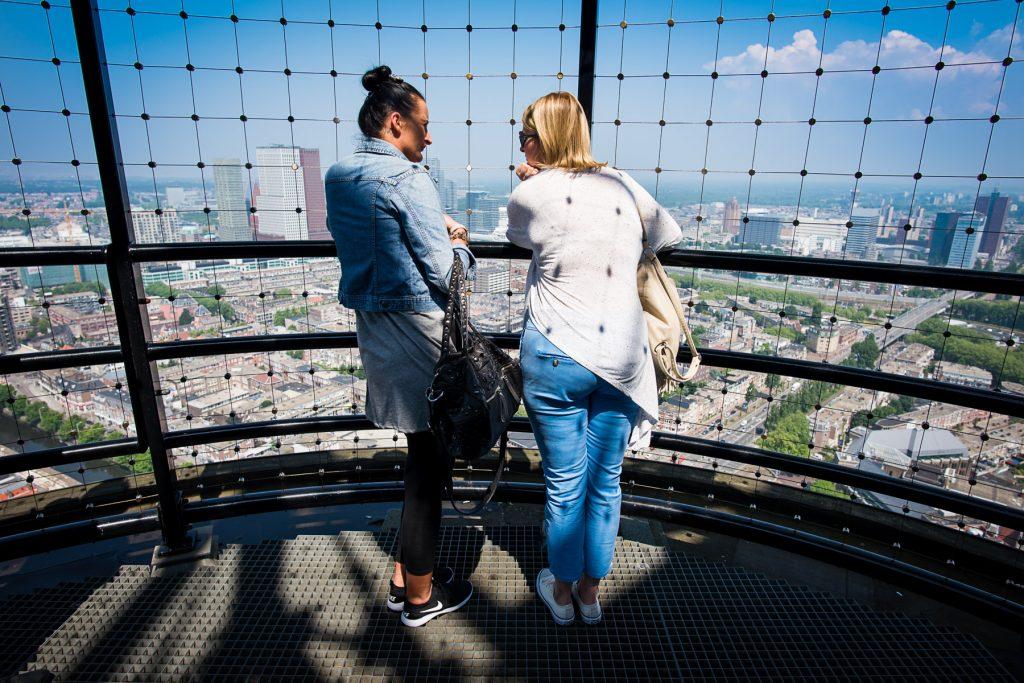 Uitzicht over de Rivierenbuurt in Den Haag