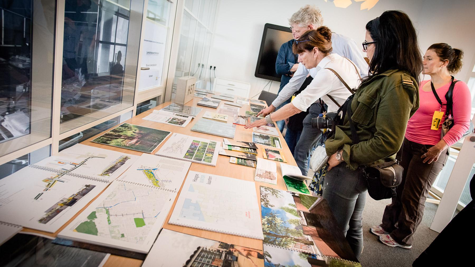 Plannen in Stadhuis Den Haag