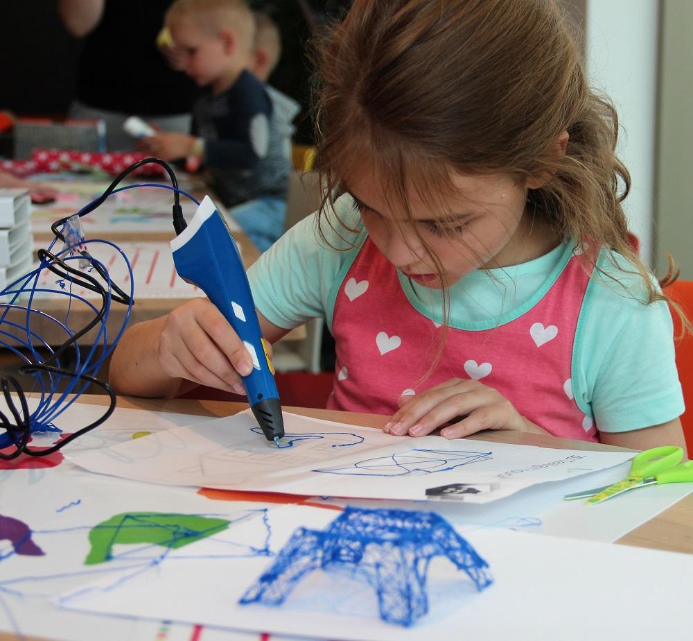 kinderworkshop 3d pennen