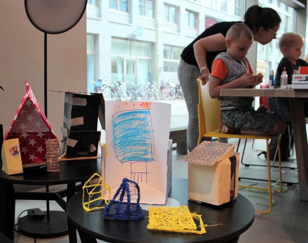 Maquette workshop kinderen
