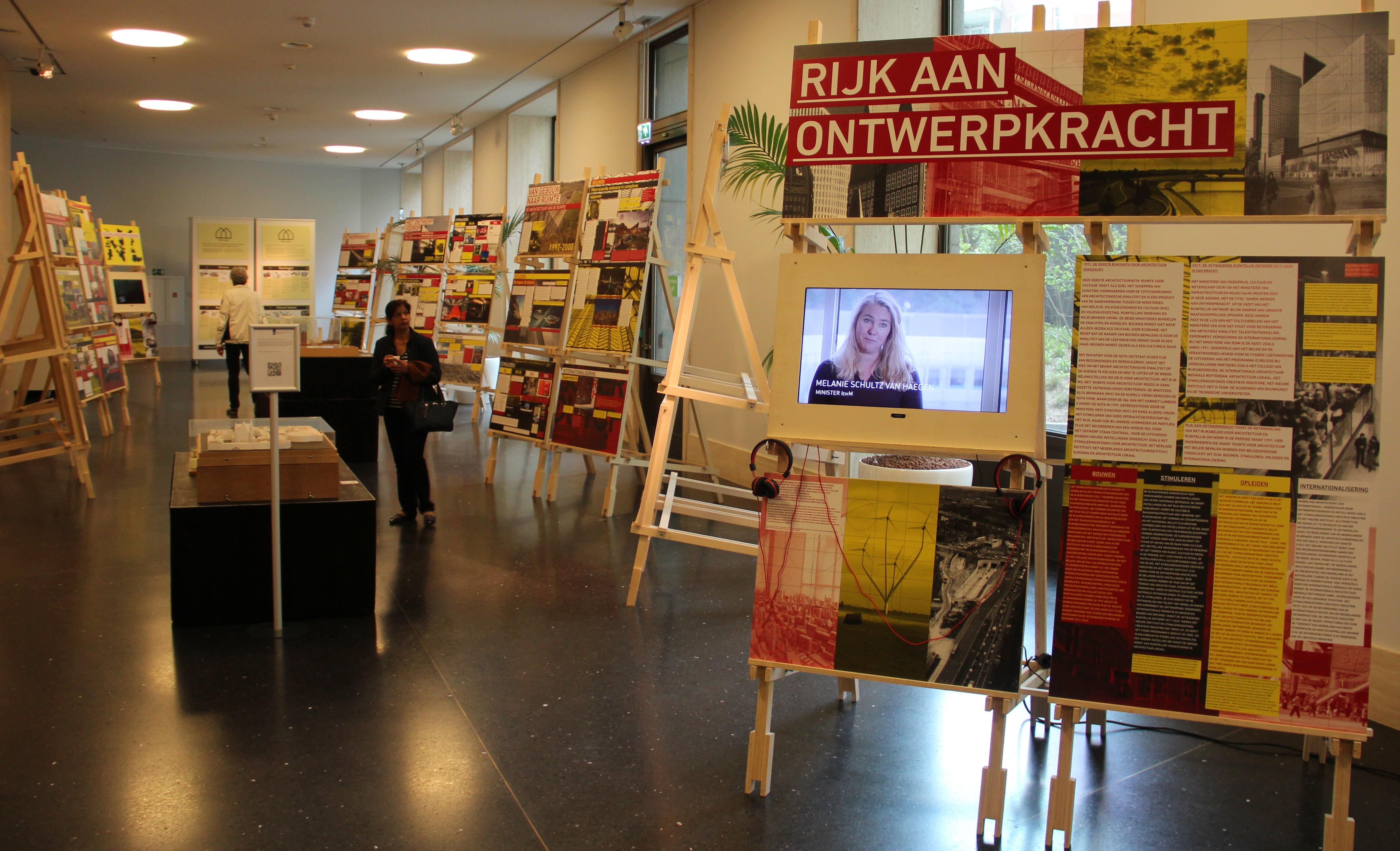 tentoonstelling Rijk aan ontwerpkracht in ministerie BZK