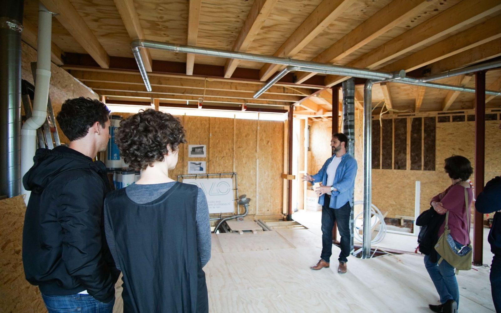 toelichting dakopbouw door ontwerper